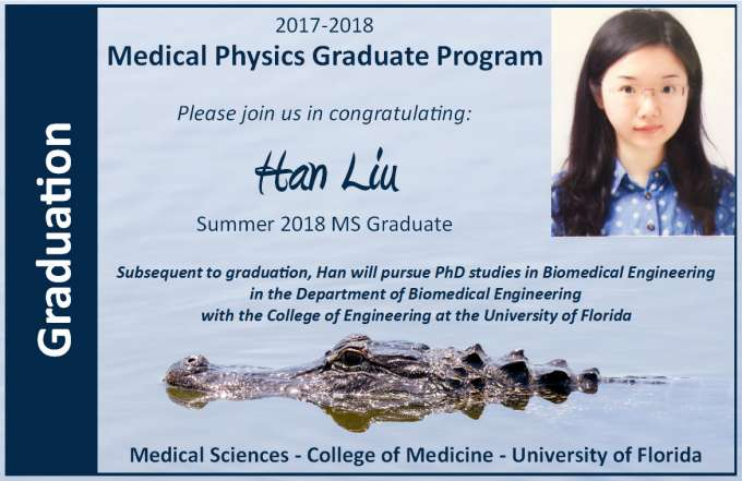 Han Liu Graduation Announcement