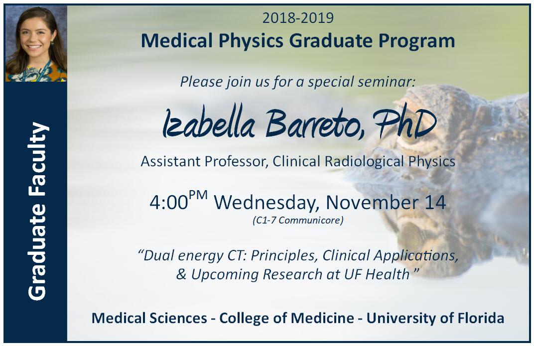 Special Seminar Announcement
