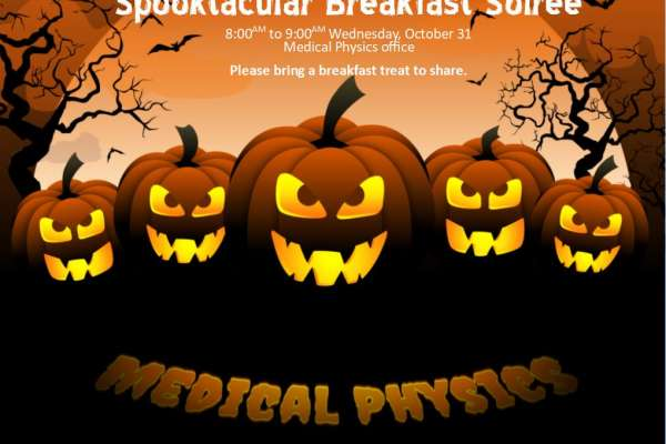 Spooktacular Breakfast Soiree Announcement