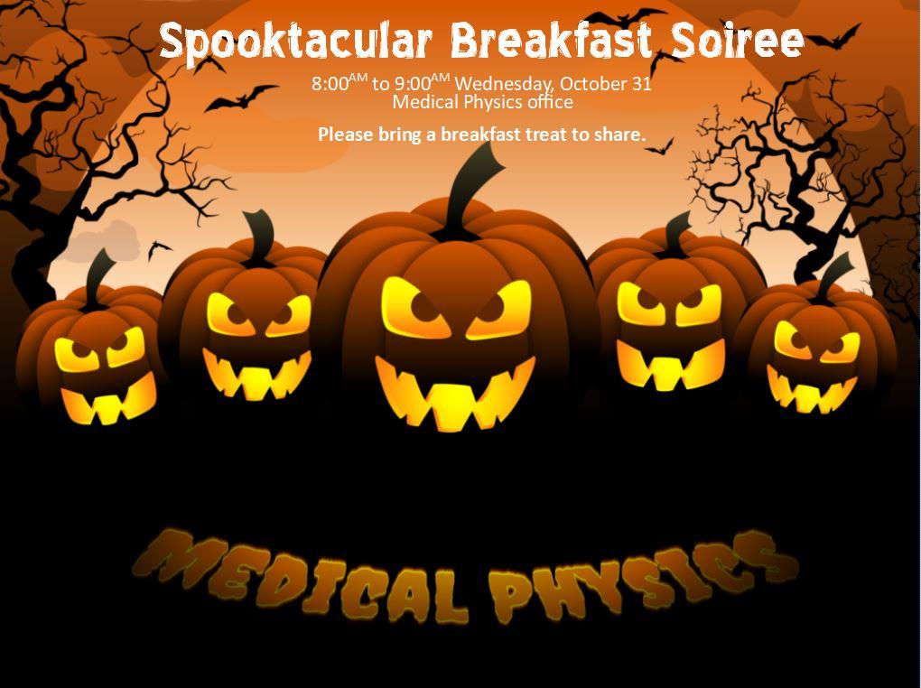 Spooktacular Breakfast Soiree