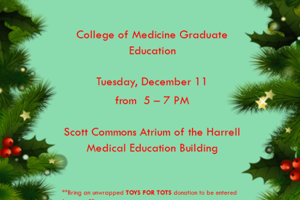 College of Medicine Holiday Celebration Announcement