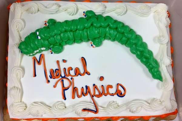 Medical Physics Graduation Cake