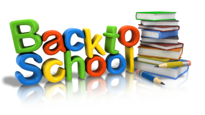 Clip Art, Back to School