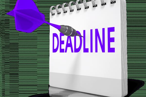 Clipart, Deadline