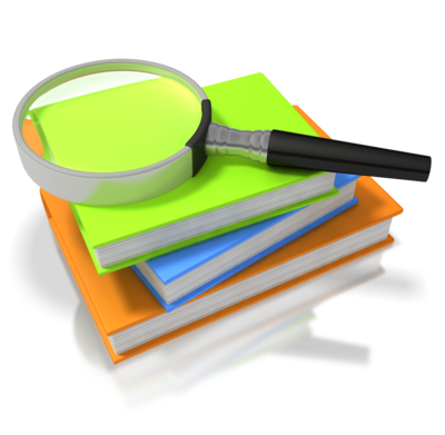 Clipart, Magnifying Glass