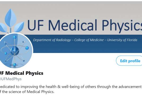 UF Medical Physics Twitter