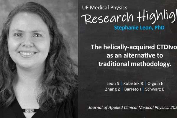 Research Highlight - Dr Stephanie Leon