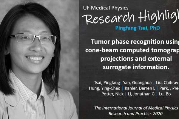 Research Highlight - Dr Pingfang Tsai