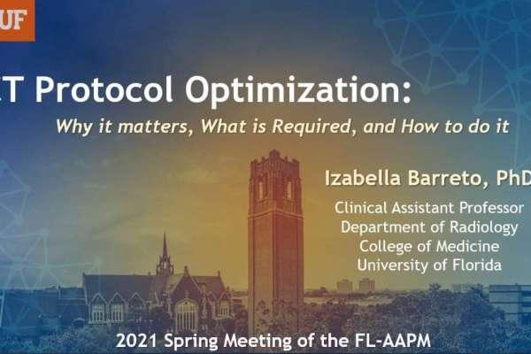 2021 Spring FLAAPM Presentation - Dr Barreto