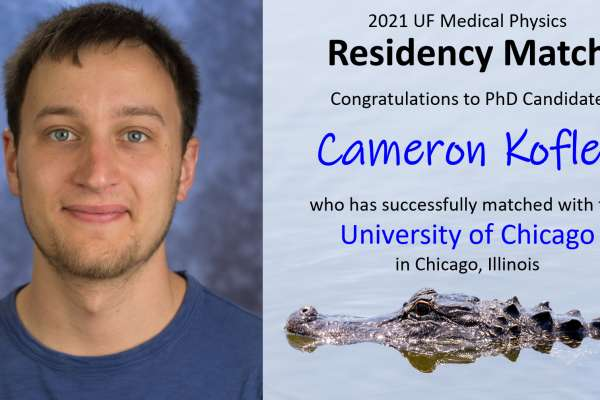 Residency Match Announcement - Cameron Kofler