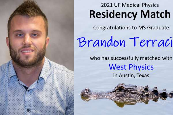 Residency Match Announcement - Brandon Terracino