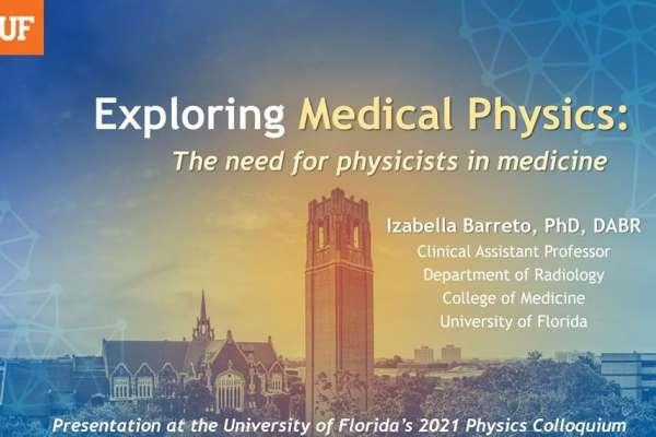 Seminar Announcement - Dr Izabella Barreto