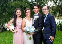 Catherine Carranza & Edmond Olguin Wedding Photo