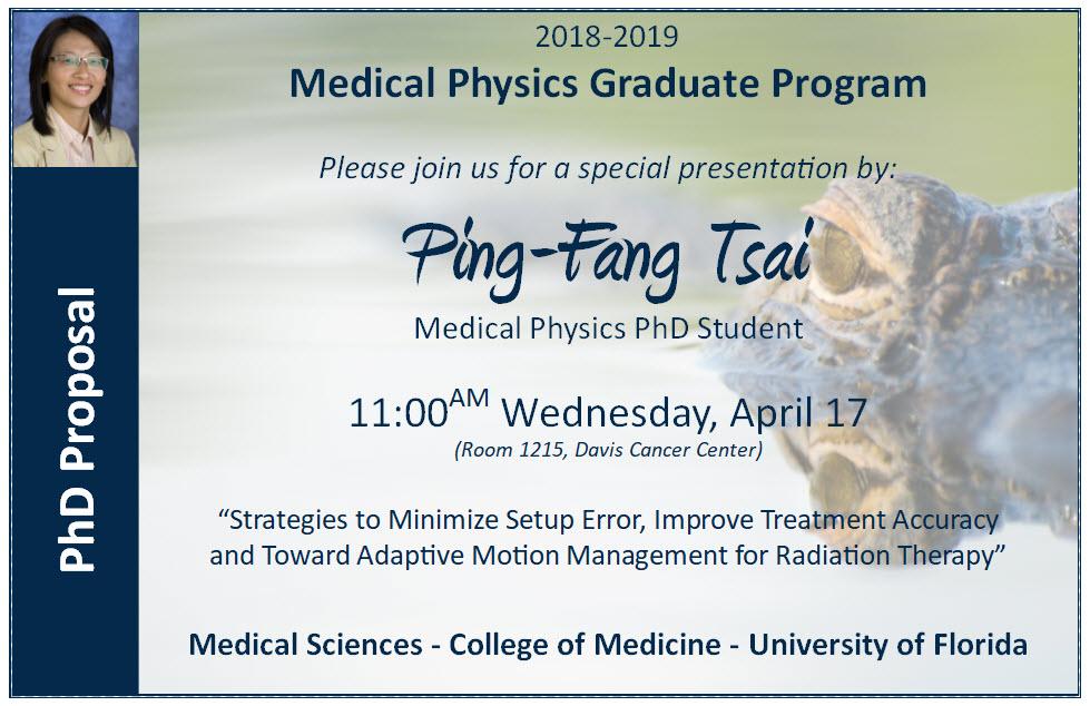 PhD Proposal Announcement