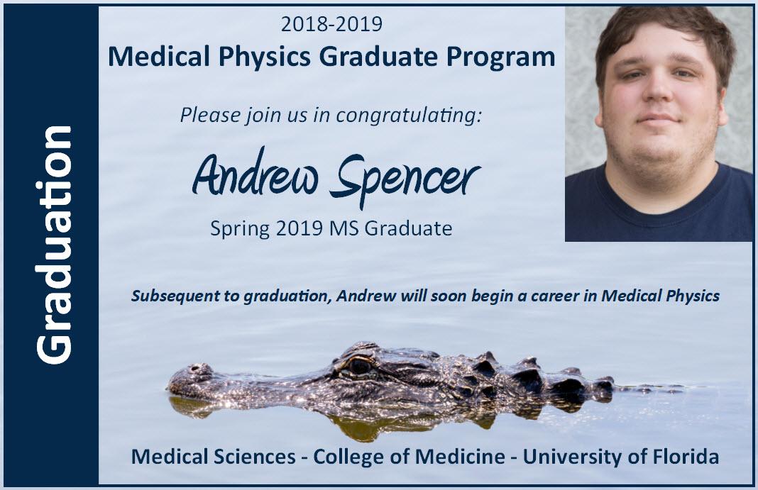 Andrew Spencer Graduation Announcement