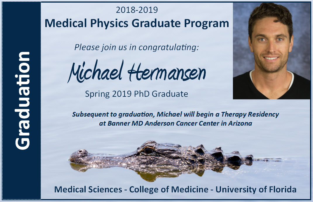 Michael Hermansen Graduation Announcement