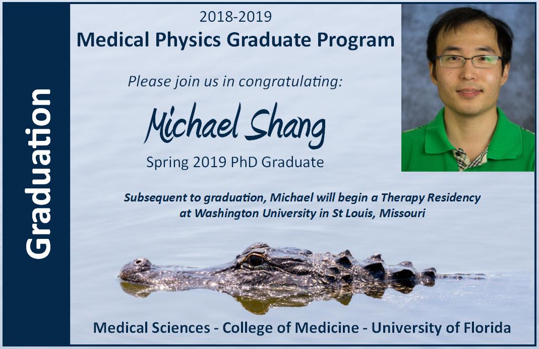 Michael Shang Graduation Announcement