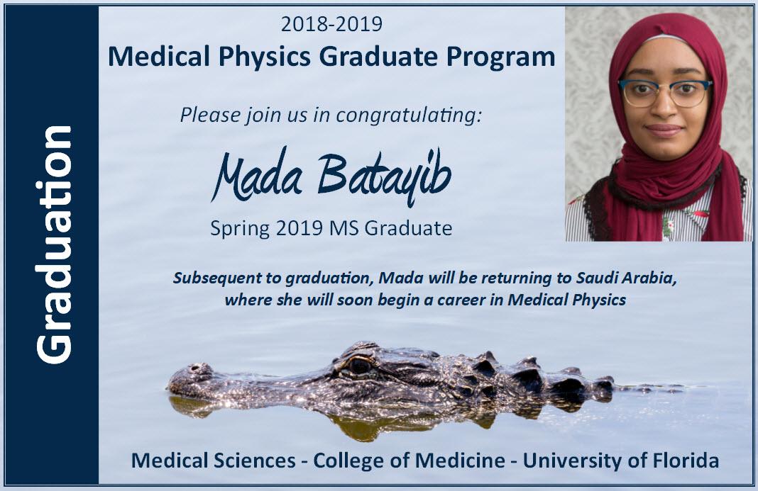 Mada Batayib Graduation Announcement
