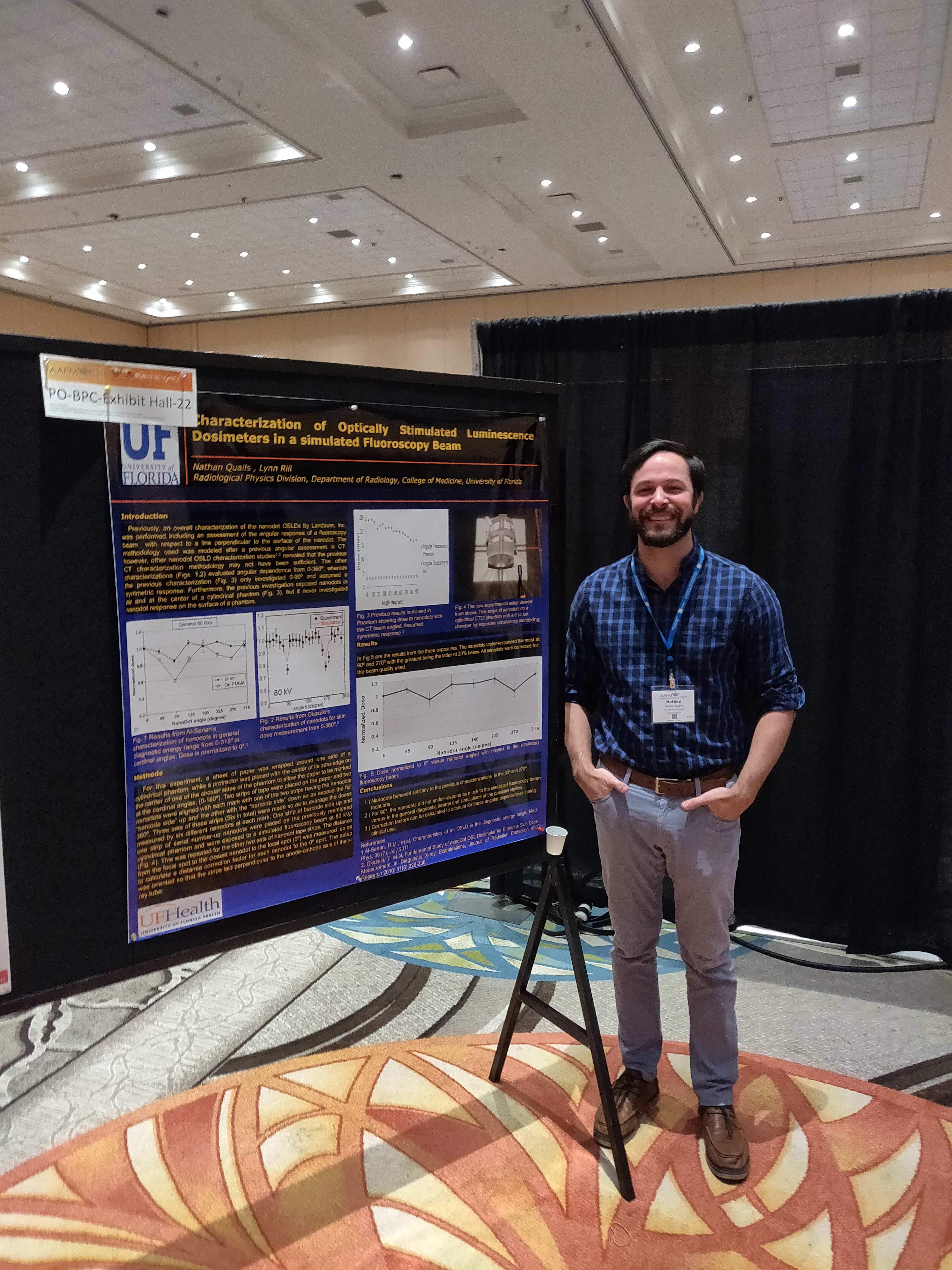 2019 Spring Clinical AAPM Poster by Nathan Quails