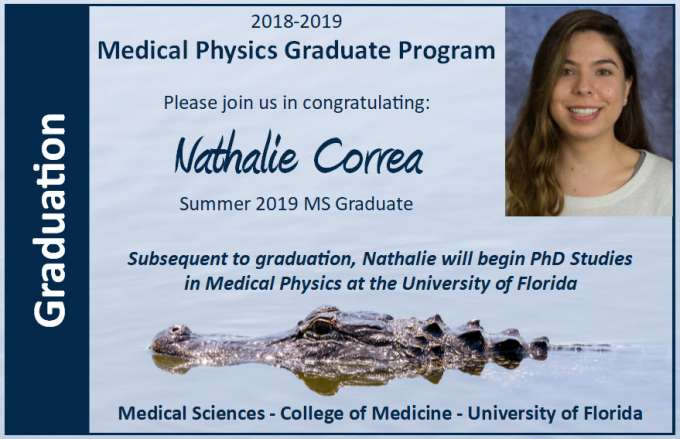Nathalie Correa Graduation Announcement