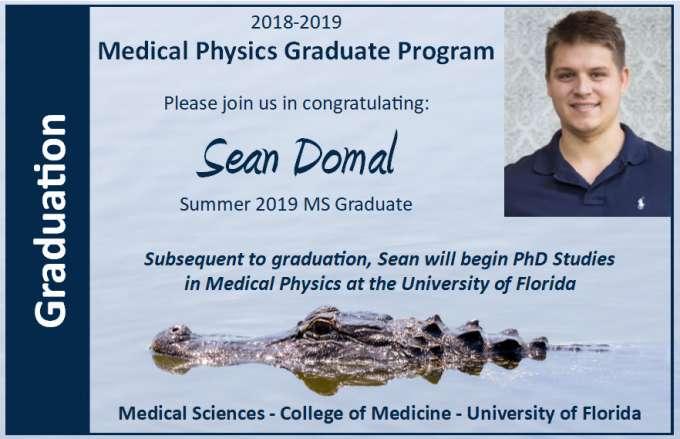 Sean Domal Graduation Announcement