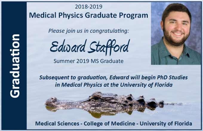 Edward Stafford Graduation Announcement