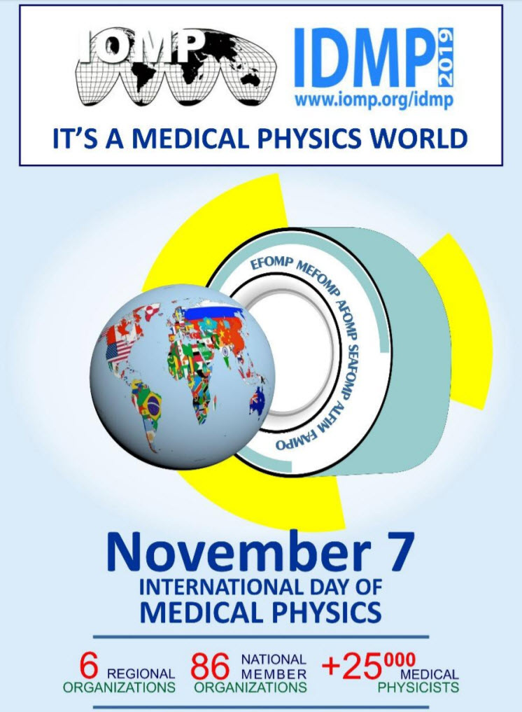 2019 International Day of Medical Physics Poster