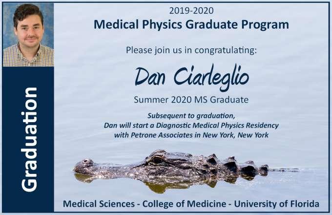 Graduation Announcement - Dan Ciarleglio
