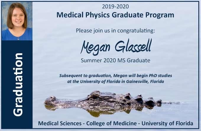 Graduation Announcement - Megan Glassell