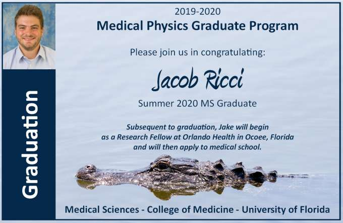 Graduation Announcement - Jacob Ricci