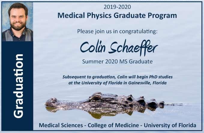 Graduation Announcement - Colin Schaeffer