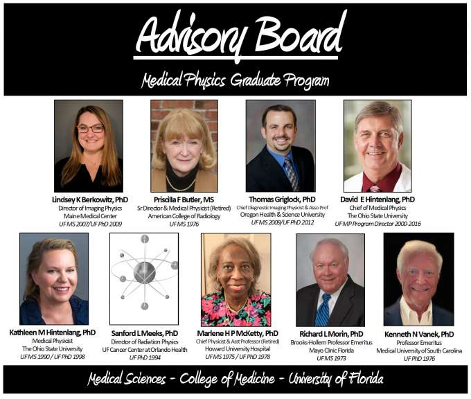 UF Medical Physics Advisory Board