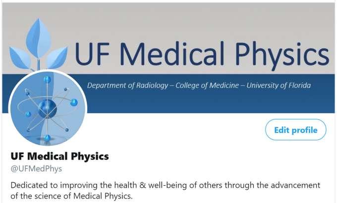 UF Medical Physics Twitter