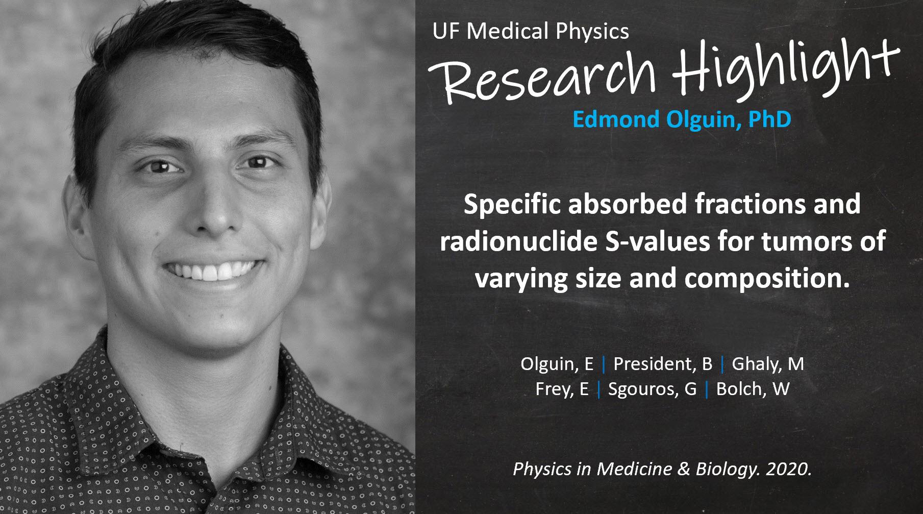 Research Highlight - Dr Edmond Olguin